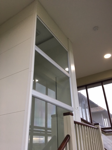 Glass Lift at Cams Hall Golf Club in Hampshire