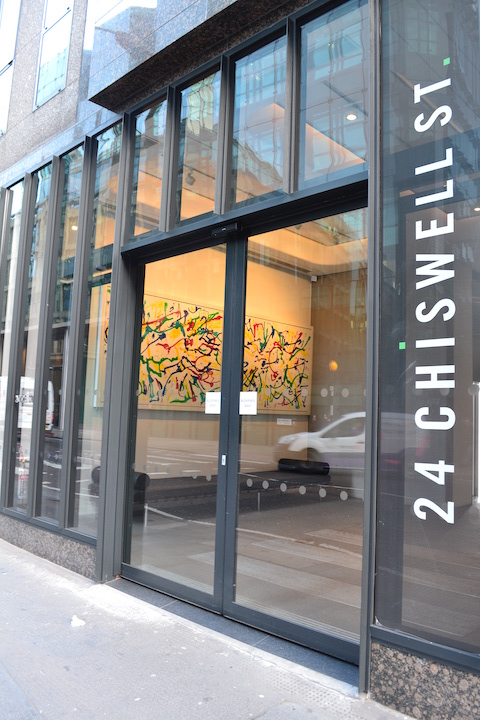 The entrance of 24 Chiswell Street
