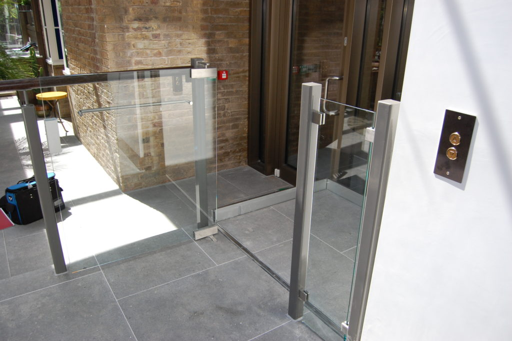 Step Lift in the Garden Room at the Devonshire Club