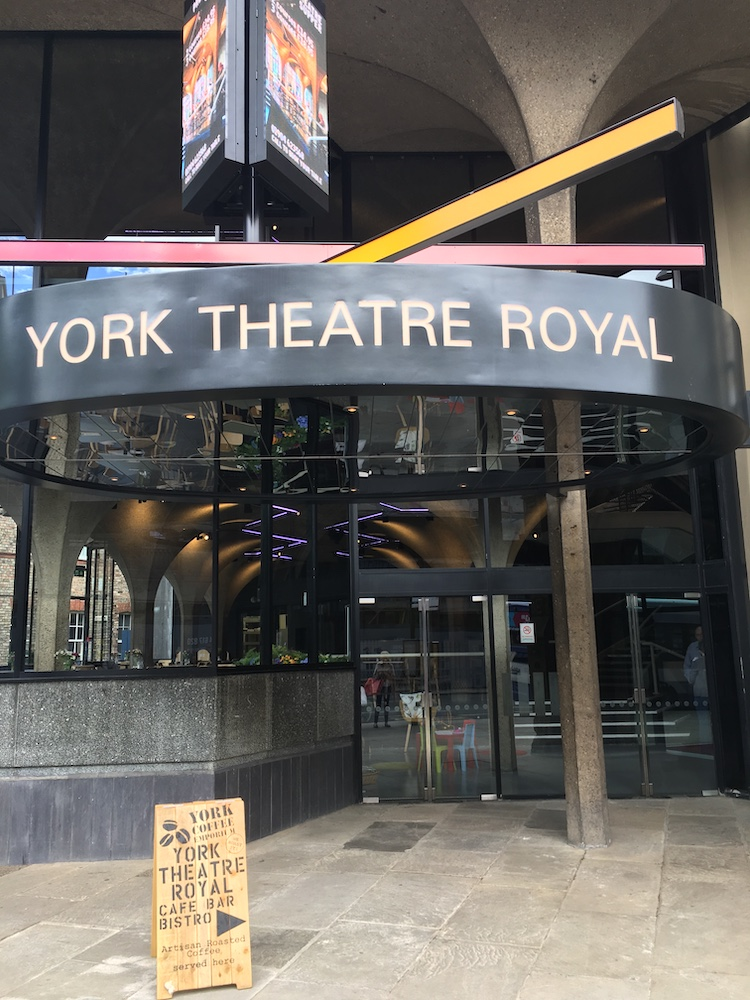The entrance at York Theatre Royal