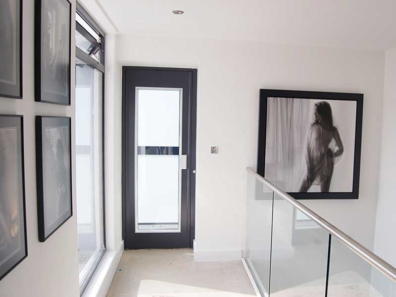 Home Lift with Frosted Glass Doors