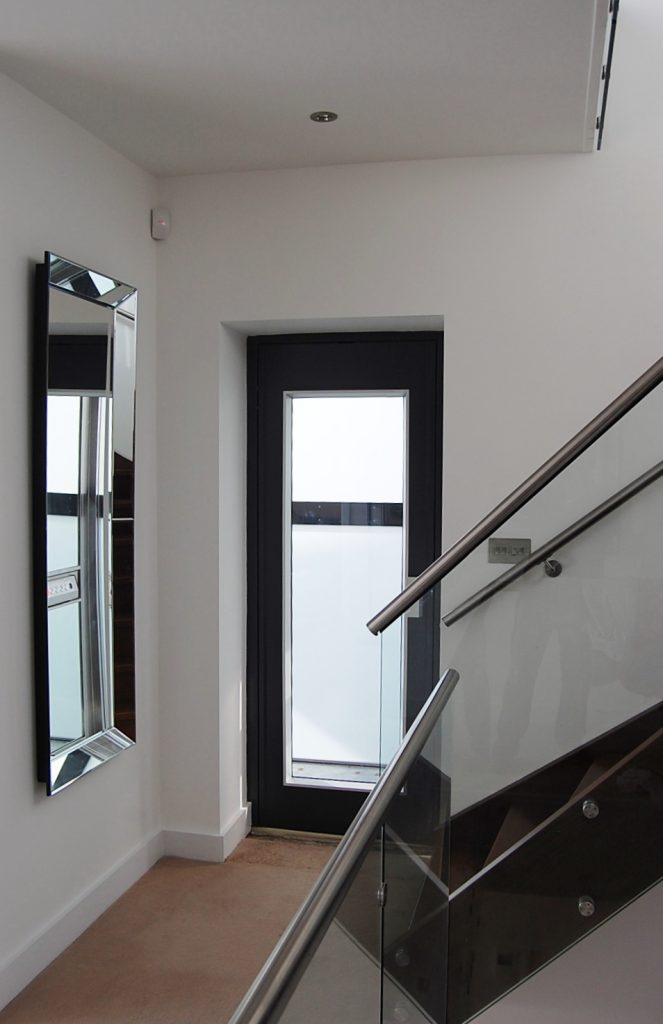 Glass Home Lift in Poole - 1st Floor