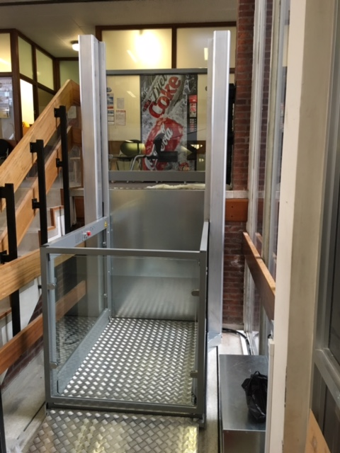 Platform Lift at Medway County Court, Kent