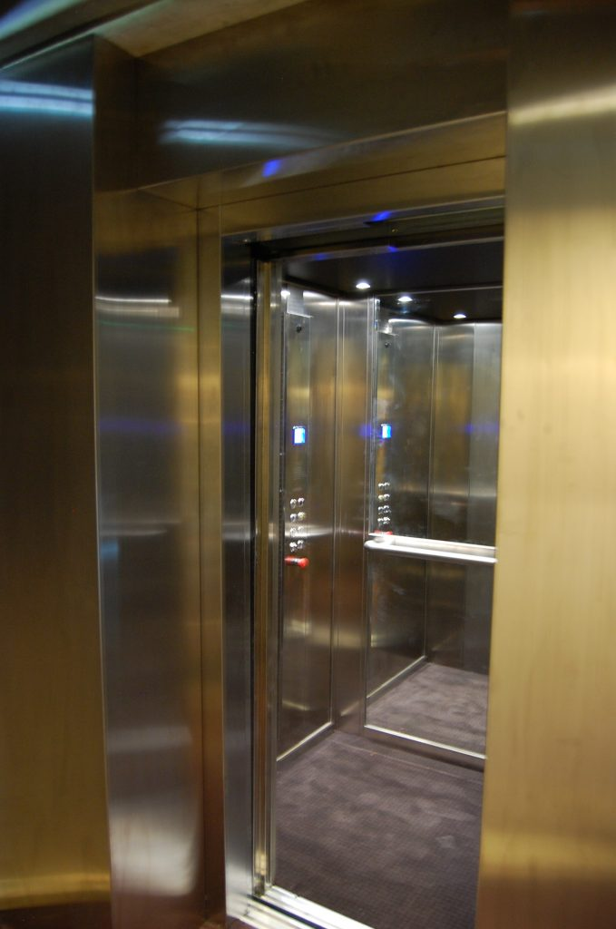 Passenger Lift at the National Theatre