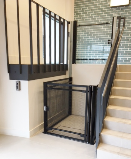 Commercial Building Platform Lift