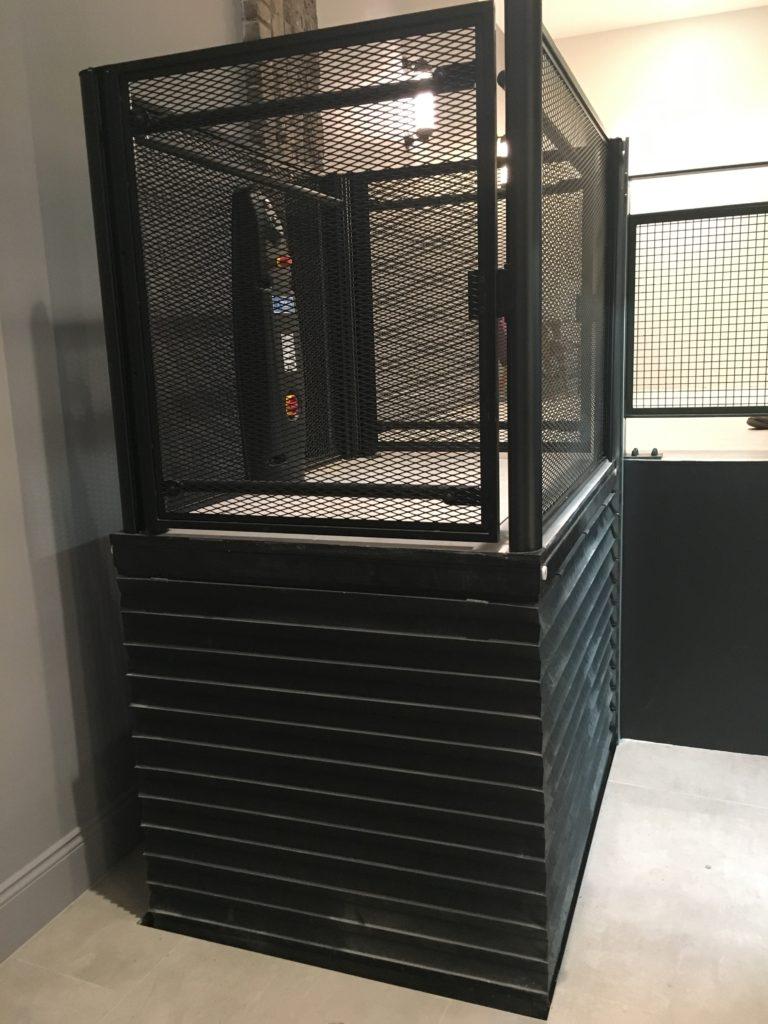 Disabled access lift at 1st floor at Seven Dials Warehouse