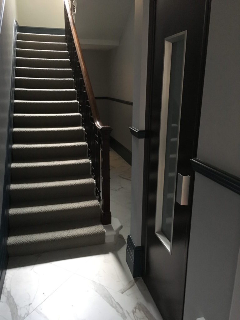 Small Passenger Lift in Flats in Mayfair