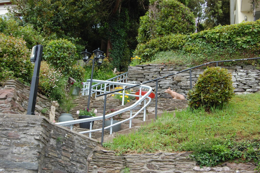 Outside Stairlift That Travels Over 23 Metres in Devon