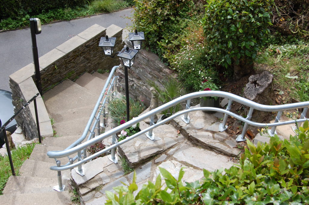 Outdoor Stairlift in Kingswear, Devon