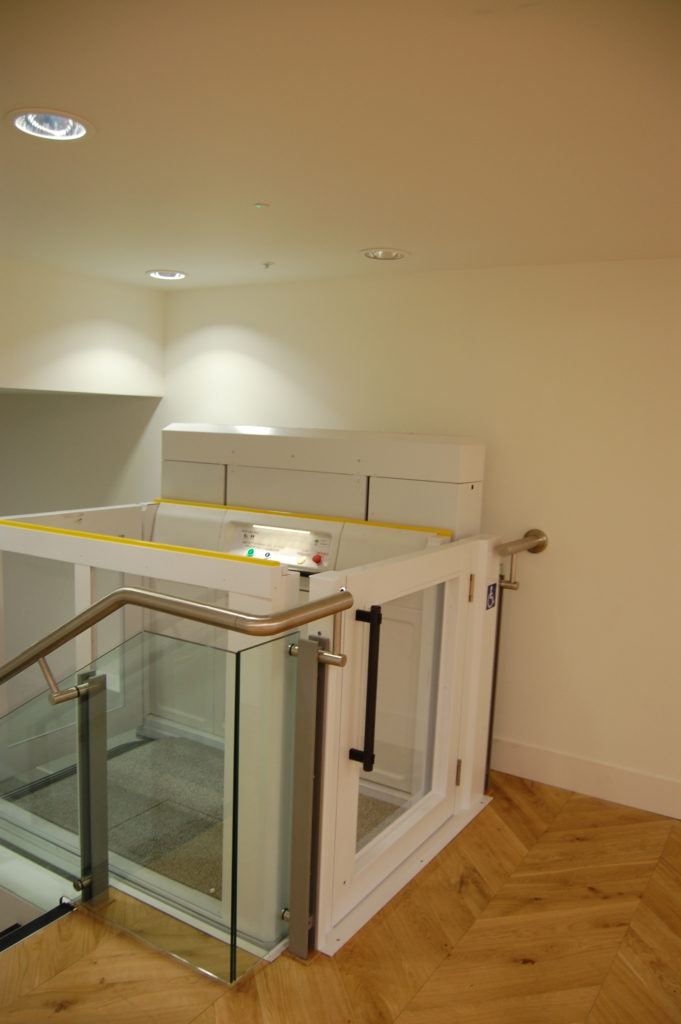 Disabled Platform Lift in Offices