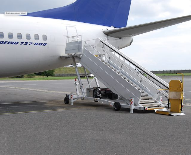 Wheelchair Lift for Planes