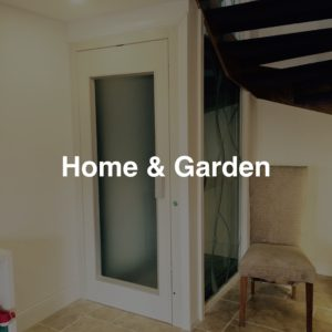 Home Lifts, Domestic Lifts, Garden Lifts