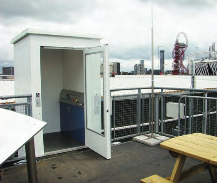 Disabled Platform Lift for Portakabin at the 2012 Olympics
