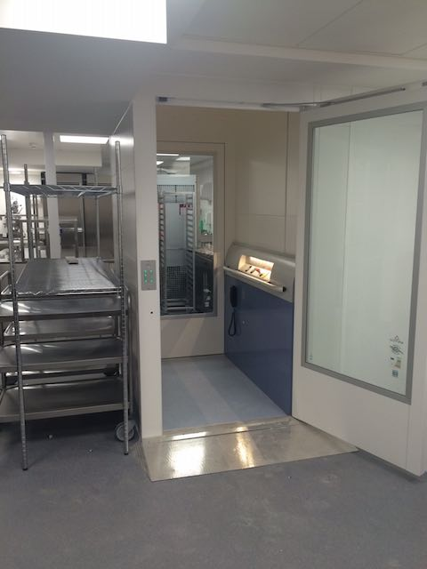 Goods Lift for CBRE in Paternoster Square