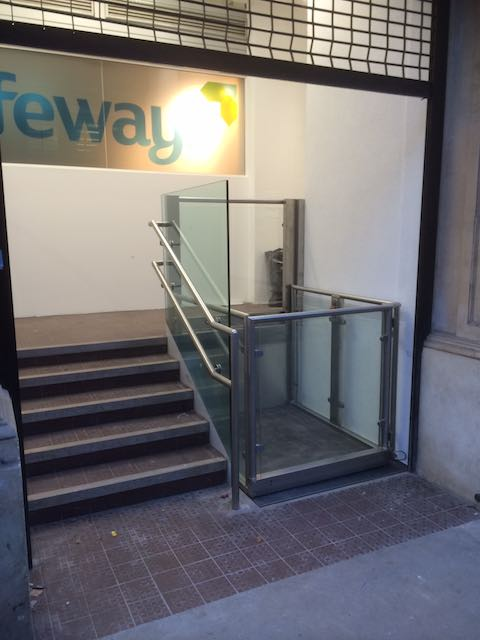 Office Platform Lift for Southwark Council