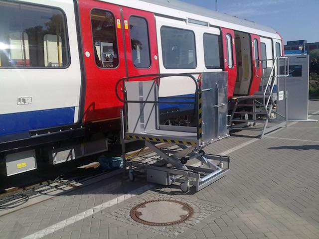 Portable Wheelchair Lift for Trains