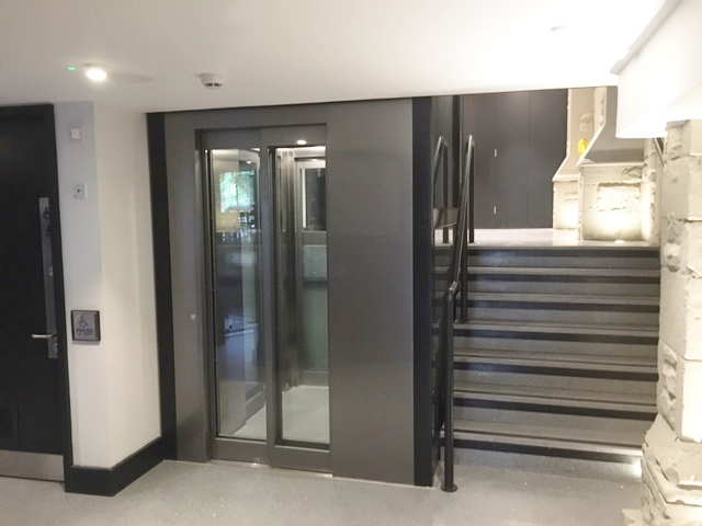 Passenger Lift at York Theatre Royal