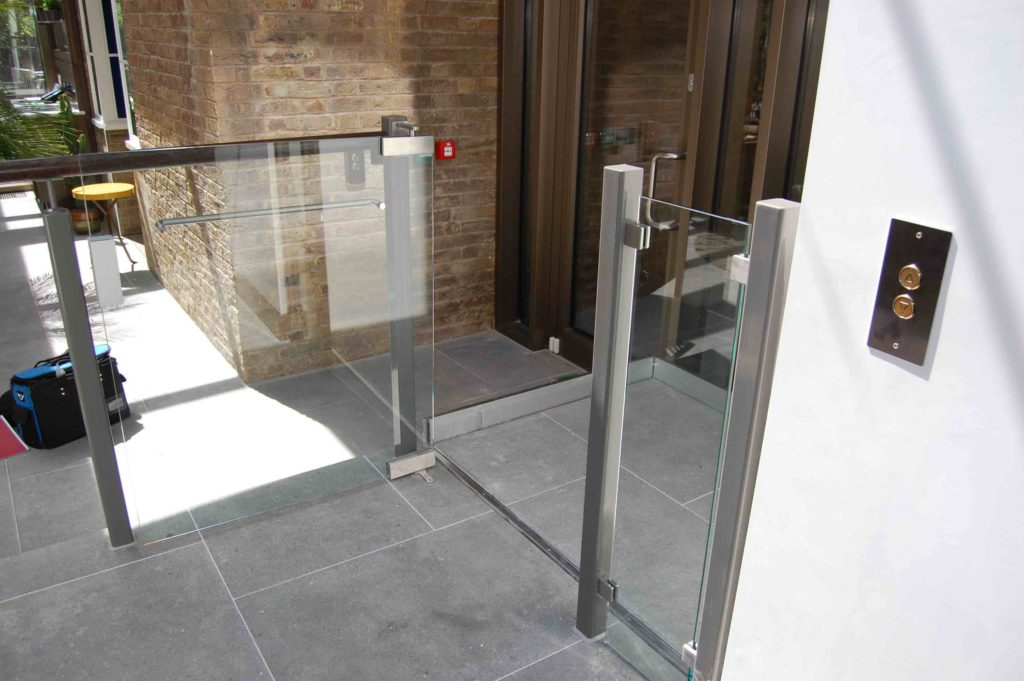 Disabled Step Lift in the Devonshire Club