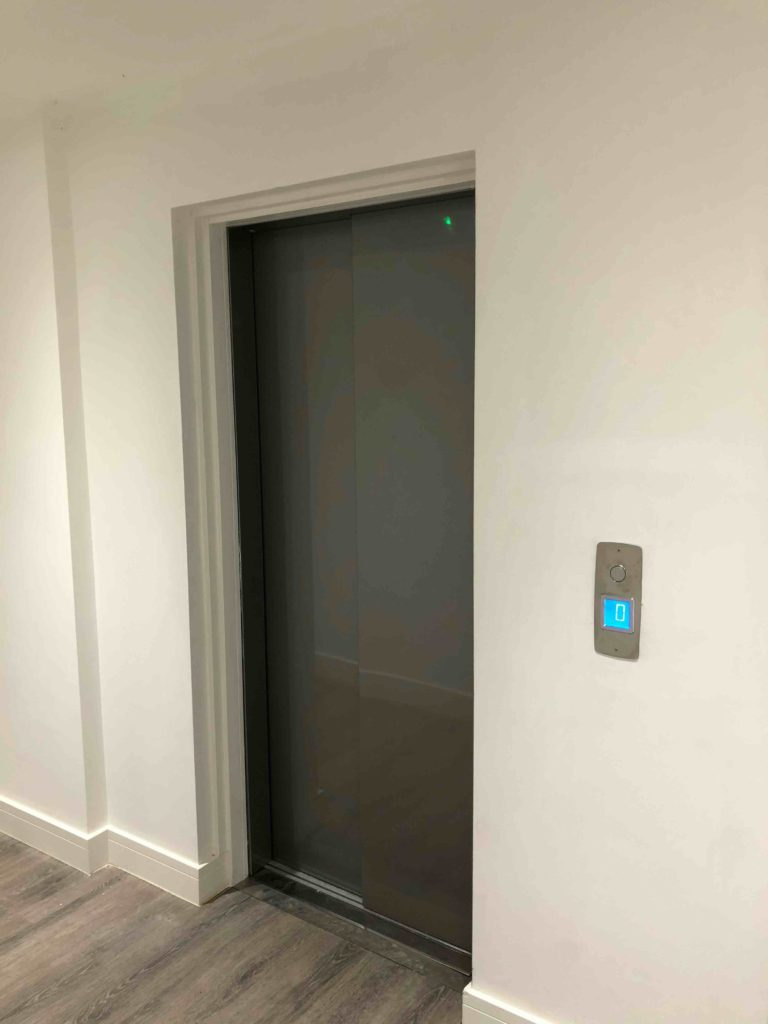 Lift in a Residential Building - Kings Lodge