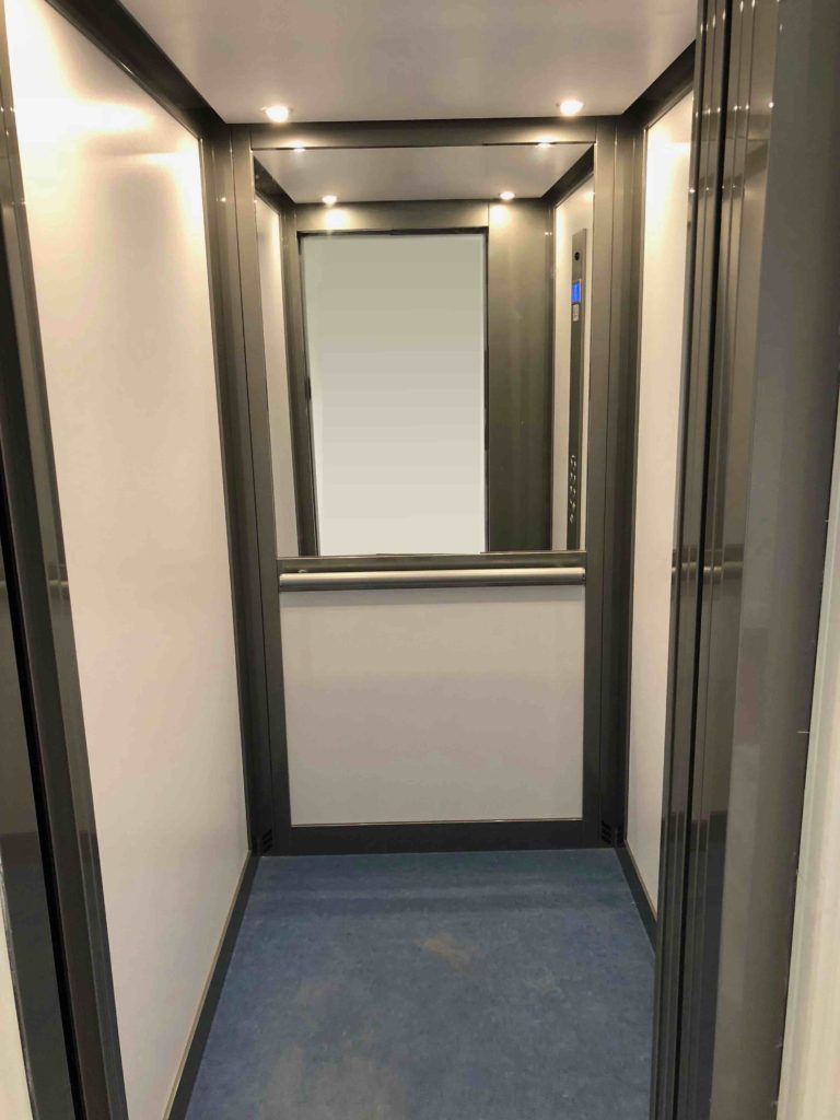 Lift in Apartment Block - Kings Lodge