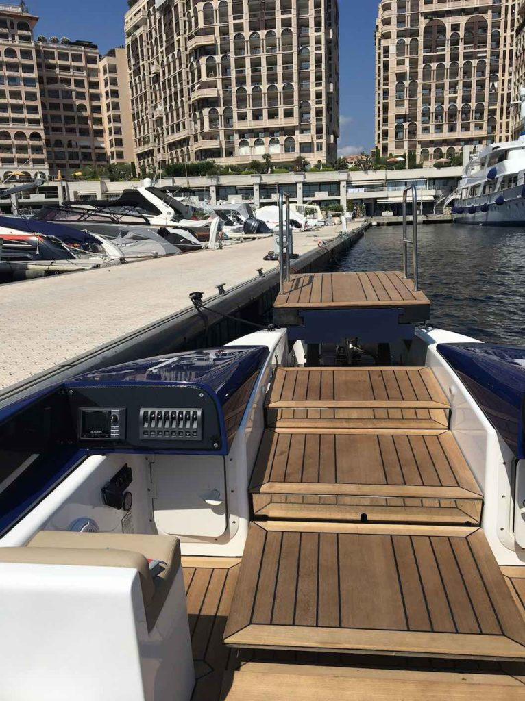 Marine Platform Lift for Ribs