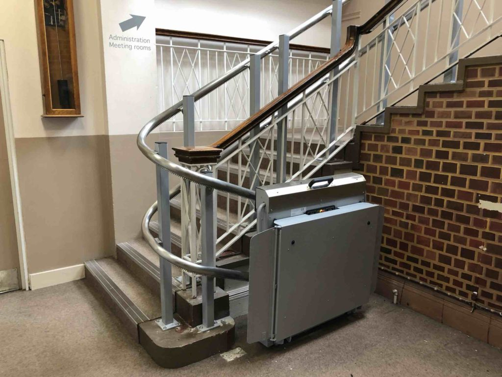 Wheelchair Lift at The Point, Eastleigh