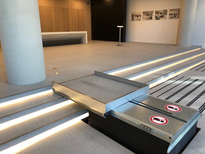 200 Grays Inn Road Hidden Platform Lift