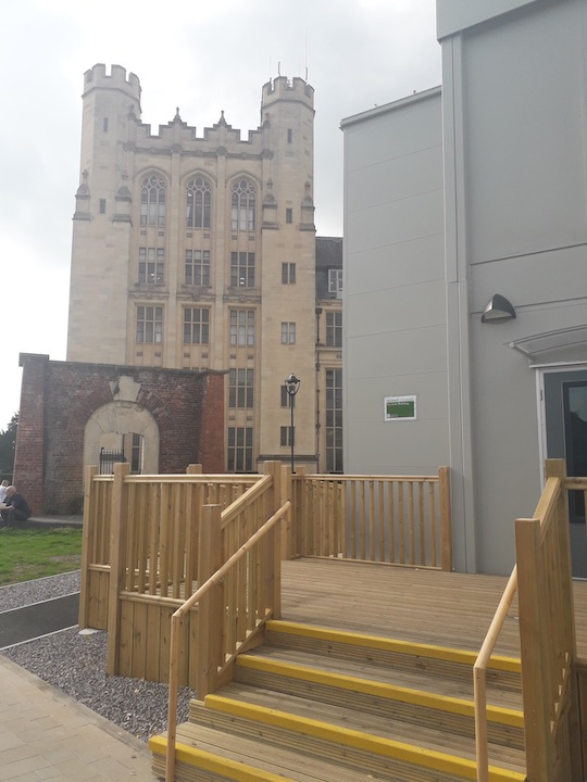 Disabled Platform Lift for Bristol University