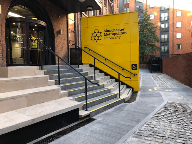 Goods Lift for Manchester Metropolitan University