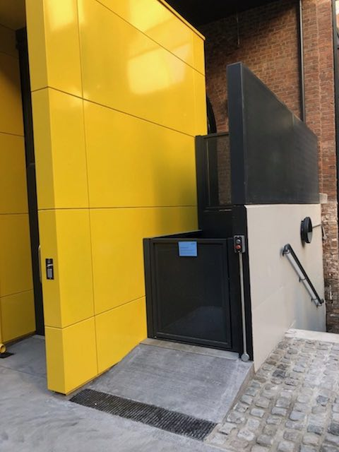 Platform Lift for Manchester Met University
