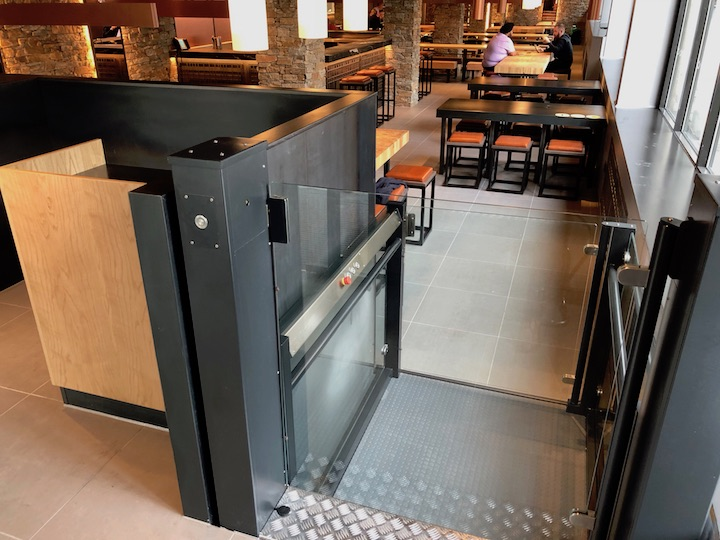 Platform Lifts for Restaurants