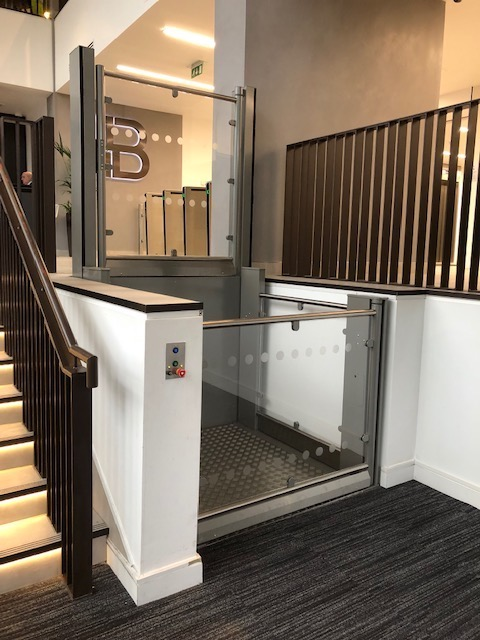 Wheelchair Platform LIft at Brunel House