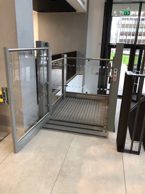 Platform Lift at Brunel House