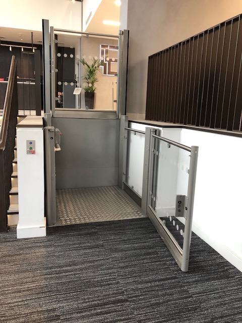 DDA Lift at Brunel House, Cardiff
