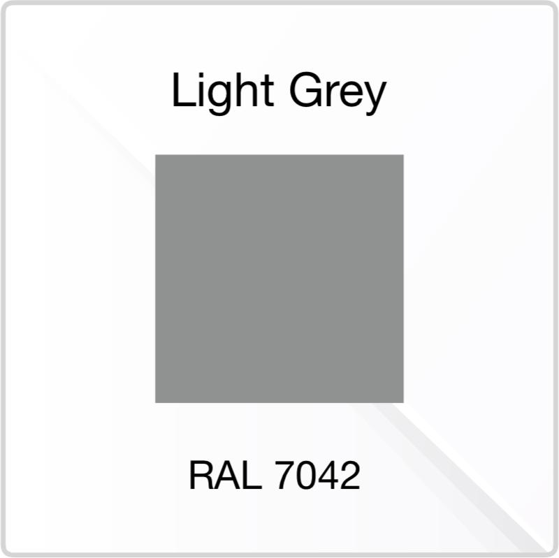 PVE Light Grey Colour