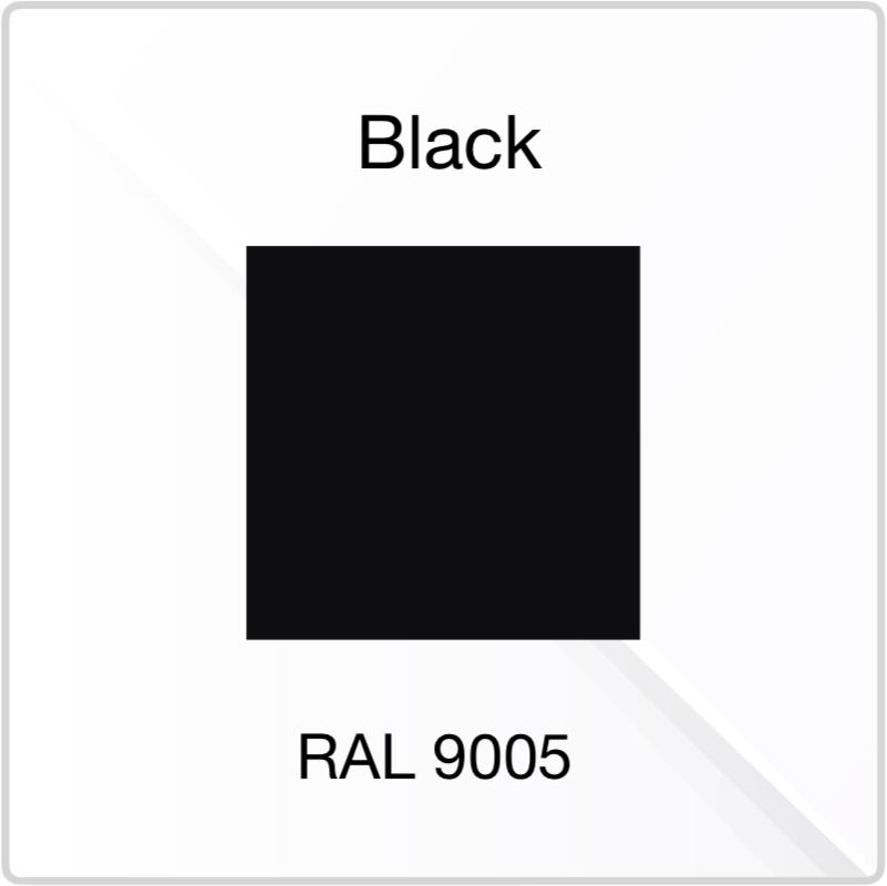 PVE Black Colour