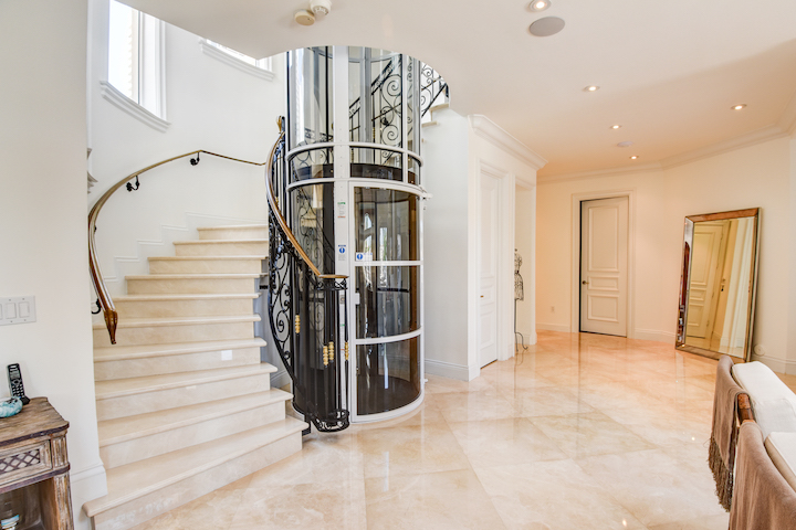 Pneumatic Home Lifts for Staircases