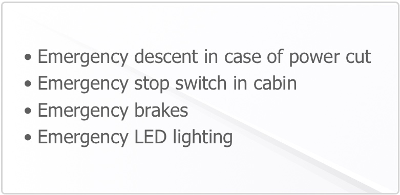Pneumatic Home Lift Safety