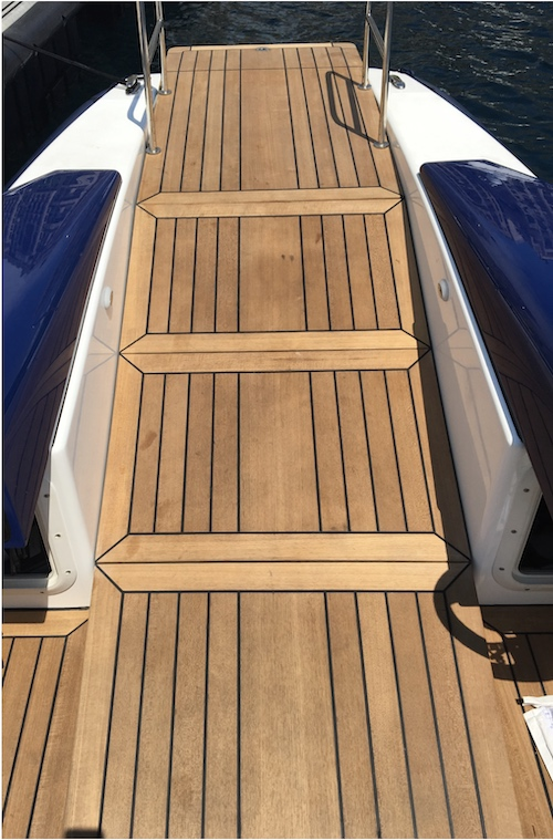 Marine Platform Lift in Decking