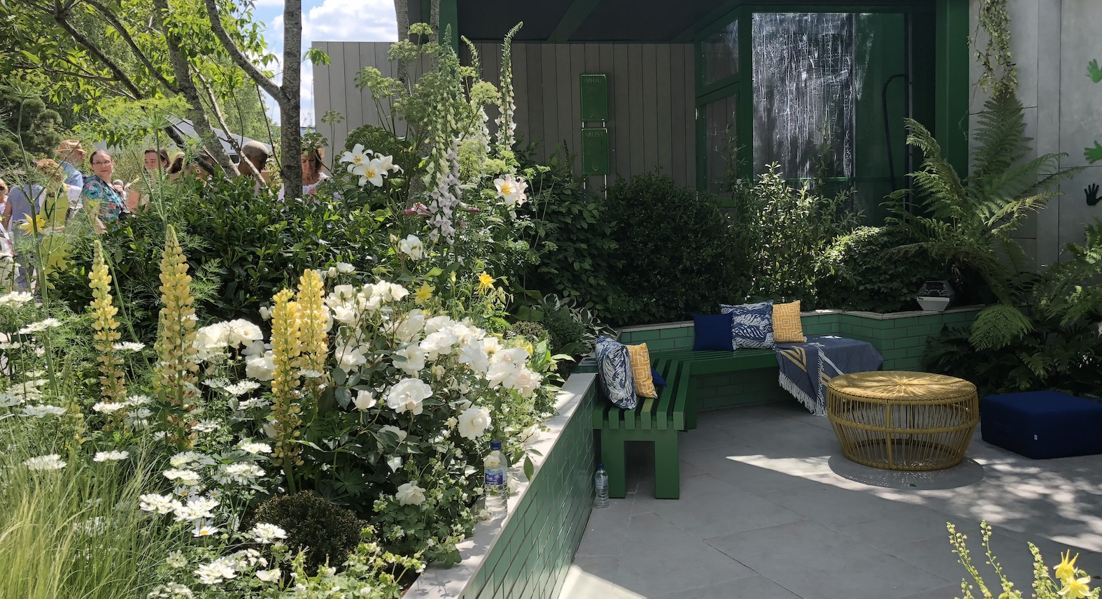 The Greenfingers Charity Garden at the Chelsea Flower Show 2019