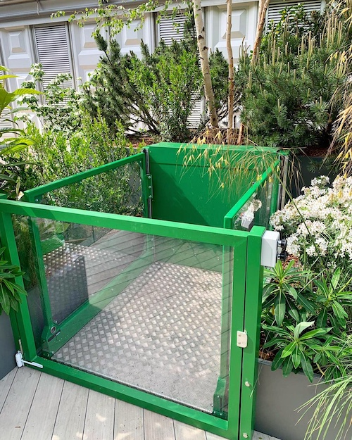 The first garden at RHS Chelsea to feature a disabled access lift